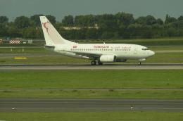Caravelle se210さんが、デュッセルドルフ国際空港で撮影したチュニスエア 737-6H3の航空フォト(飛行機 写真・画像)