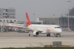 TAOTAOさんが、鄭州新鄭国際空港で撮影したGXエアラインズ ERJ-190-100 LR (ERJ-190LR)の航空フォト(飛行機 写真・画像)