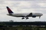 ハピネスさんが、成田国際空港で撮影したデルタ航空 777-232/ERの航空フォト(飛行機 写真・画像)