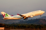 RUSSIANSKIさんが、スルタンハサヌディン国際空港で撮影したガルーダ・インドネシア航空 747-412の航空フォト(写真)