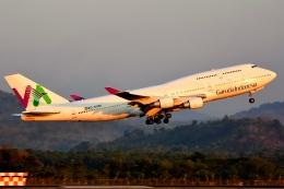 RUSSIANSKIさんが、スルタンハサヌディン国際空港で撮影したガルーダ・インドネシア航空 747-412の航空フォト(飛行機 写真・画像)