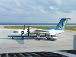 ピーノックさんが、北大東空港で撮影した琉球エアーコミューター DHC-8-103Q Dash 8の航空フォト(飛行機 写真・画像)