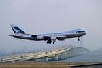 山河 彩さんが、関西国際空港で撮影したキャセイパシフィック航空 747-467F/SCDの航空フォト(写真)