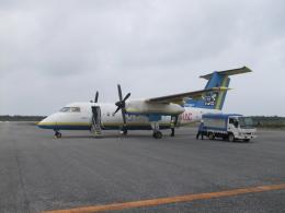 ピーノックさんが、多良間空港で撮影した琉球エアーコミューター DHC-8-103Q Dash 8の航空フォト(飛行機 写真・画像)
