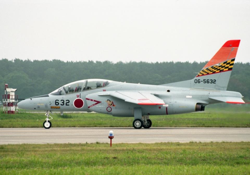 元青森人さんの航空自衛隊 Kawasaki T-4 (06-5632) 航空フォト