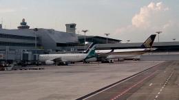 tsubasa0624さんが、シンガポール・チャンギ国際空港で撮影したシルクエア A320-233の航空フォト(写真)