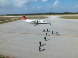 ピーノックさんが、南大東空港で撮影した琉球エアーコミューター DHC-8-314 Dash 8の航空フォト(飛行機 写真・画像)