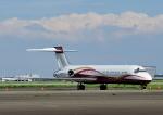 じーく。さんが、羽田空港で撮影したサンライダー MD-87 (DC-9-87)の航空フォト(写真)