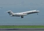じーく。さんが、羽田空港で撮影したウガンダ政府 G-V-SP Gulfstream G550の航空フォト(写真)