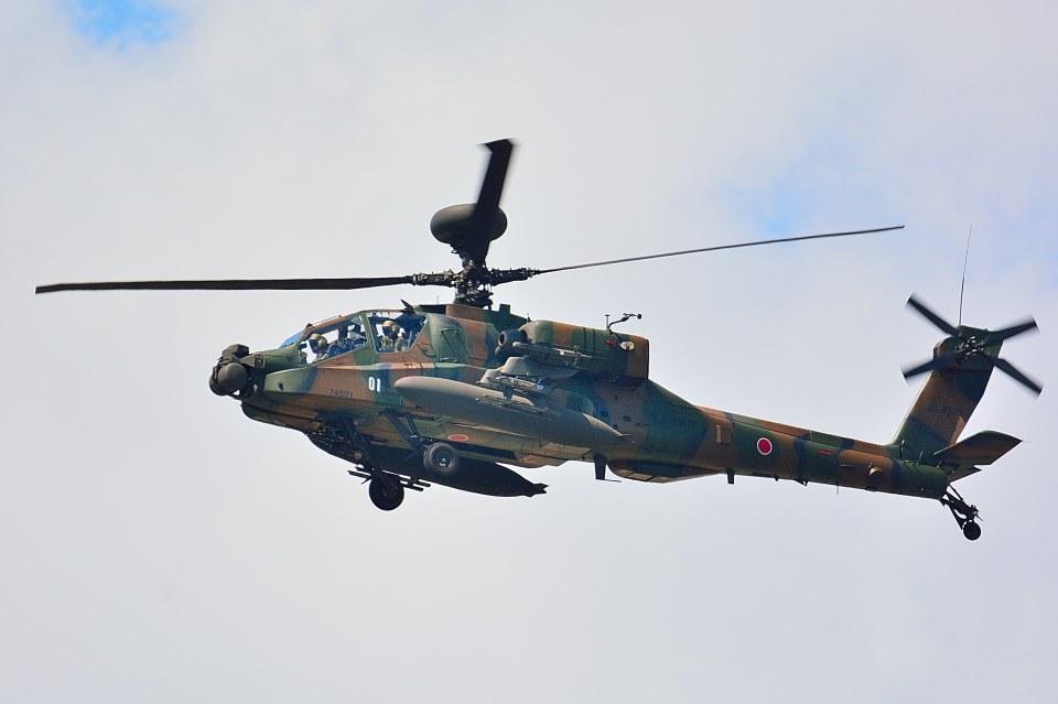 T.Sazenさんの陸上自衛隊 Fuji AH-64D (74501) 航空フォト