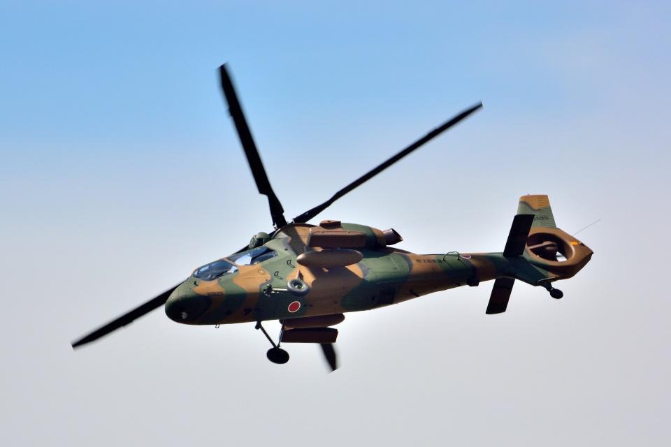 T.Sazenさんの陸上自衛隊 Kawasaki OH-1 (32629) 航空フォト