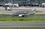 スポット110さんが、羽田空港で撮影したプライベートエア 737-7JW BBJの航空フォト(飛行機 写真・画像)