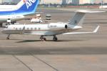 jun☆さんが、羽田空港で撮影したウガンダ政府 G-V-SP Gulfstream G550の航空フォト(写真)