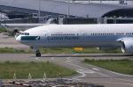 関空と同い年さんが、関西国際空港で撮影したキャセイパシフィック航空 777-367の航空フォト(写真)