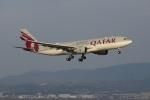mougandouさんが、関西国際空港で撮影したカタール航空 A330-202の航空フォト(写真)