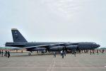 うめやしきさんが、三沢飛行場で撮影したアメリカ空軍 B-52H-BW Stratofortressの航空フォト(飛行機 写真・画像)