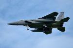 うめやしきさんが、三沢飛行場で撮影したアメリカ空軍 F-15C Eagleの航空フォト(飛行機 写真・画像)