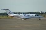 北の熊さんが、新千歳空港で撮影したセスナ・エアクラフト・カンパニー 525C Citation CJ4の航空フォト(飛行機 写真・画像)