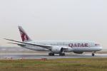 安芸あすかさんが、フランクフルト国際空港で撮影したカタール航空 787-8 Dreamlinerの航空フォト(飛行機 写真・画像)