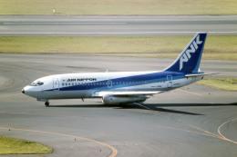 Gambardierさんが、羽田空港で撮影したエアーニッポン 737-281/Advの航空フォト(飛行機 写真・画像)