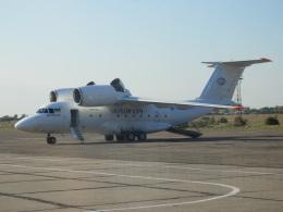 TUILANYAKSUさんが、ザポリージャ国際空港で撮影したモーター・シッチ・エアラインズ An-74-200の航空フォト(飛行機 写真・画像)