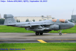 Chofu Spotter Ariaさんが、横田基地で撮影したアメリカ海兵隊 EA-6B Prowler (G-128)の航空フォト(写真)