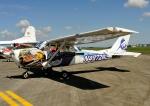 じーく。さんが、横田基地で撮影したヨコタ・アエロ・クラブ 172H Skyhawkの航空フォト(飛行機 写真・画像)