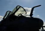 じーく。さんが、横田基地で撮影したアメリカ海兵隊 EA-6B Prowler (G-128)の航空フォト(飛行機 写真・画像)
