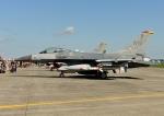 じーく。さんが、横田基地で撮影したアメリカ空軍 F-16CM-50-CF Fighting Falconの航空フォト(飛行機 写真・画像)