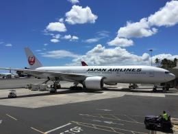 sunpoohさんが、ダニエル・K・イノウエ国際空港で撮影した日本航空 777-246/ERの航空フォト(飛行機 写真・画像)
