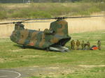 kumagorouさんが、角田滑空場で撮影した陸上自衛隊 CH-47Jの航空フォト(写真)