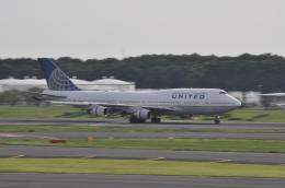 Butaさんが、成田国際空港で撮影したユナイテッド航空 747-422の航空フォト(飛行機 写真・画像)