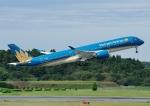 じーく。さんが、成田国際空港で撮影したベトナム航空 A350-941の航空フォト(飛行機 写真・画像)