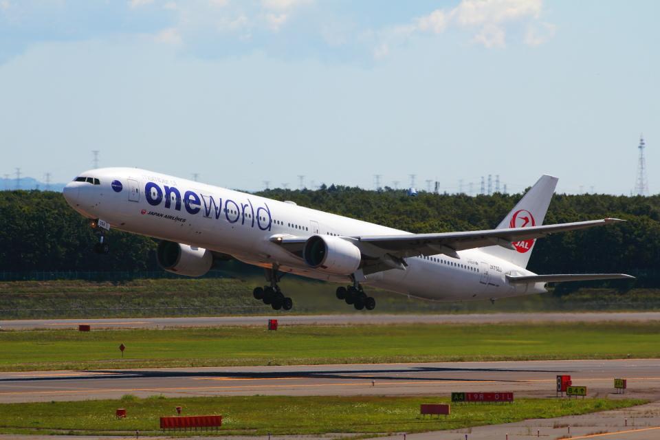 アイスコーヒーさんの日本航空 Boeing 777-300 (JA752J) 航空フォト