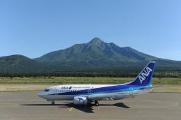 なないろさんが、利尻空港で撮影したANAウイングス 737-5L9の航空フォト(飛行機 写真・画像)