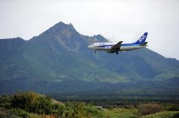なないろさんが、利尻空港で撮影したANAウイングス 737-54Kの航空フォト(飛行機 写真・画像)