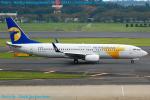 Chofu Spotter Ariaさんが、成田国際空港で撮影したMIATモンゴル航空 737-8CXの航空フォト(飛行機 写真・画像)