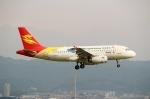 ハピネスさんが、関西国際空港で撮影した北京首都航空 A319-132の航空フォト(飛行機 写真・画像)