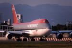 Gambardierさんが、伊丹空港で撮影したノースウエスト航空 747-451の航空フォト(写真)