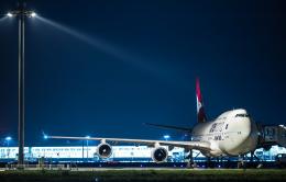 Orcaさんが、羽田空港で撮影したカンタス航空 747-438/ERの航空フォト(写真)