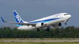 santaさんが、小松空港で撮影した全日空 737-881の航空フォト(飛行機 写真・画像)