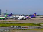 noinaさんが、関西国際空港で撮影したタイ国際航空 747-4D7の航空フォト(写真)