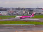 noinaさんが、福岡空港で撮影したピーチ A320-214の航空フォト(写真)