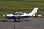 パンダさんが、山形空港で撮影した日本個人所有 TB-20 Trinidad GTの航空フォト(飛行機 写真・画像)