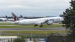 ロンドン・ヒースロー空港 - London Heathrow Airport [LHR/EGLL]で撮影されたカタール航空 - Qatar Airways [QR/QTR]の航空機写真