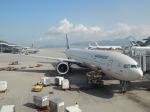 シフォンさんが、香港国際空港で撮影したアエロフロート・ロシア航空 777-3M0/ERの航空フォト(飛行機 写真・画像)