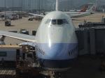 シフォンさんが、香港国際空港で撮影したチャイナエアライン 747-409の航空フォト(飛行機 写真・画像)