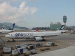 シフォンさんが、香港国際空港で撮影したキャセイパシフィック航空 A330-343Xの航空フォト(写真)