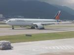 シフォンさんが、香港国際空港で撮影したフィリピン航空 A330-343Xの航空フォト(飛行機 写真・画像)