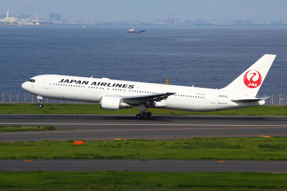 アイスコーヒーさんの日本航空 Boeing 767-300 (JA659J) 航空フォト